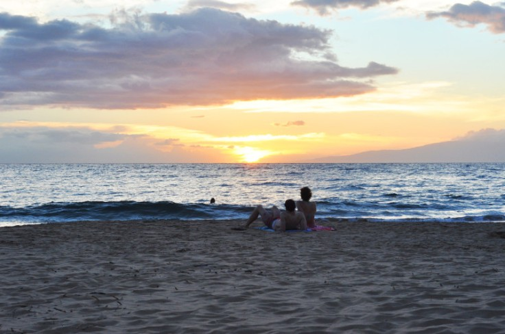 Kihei_Kamaole Beach Park II_sunset_aloha friday