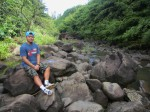 Maui-hana highway-bamboo forest trail-waterfall-stream-hike