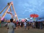 maui fair_amusement rides_colorful lights