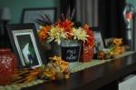 Halloween, fall, home decor
