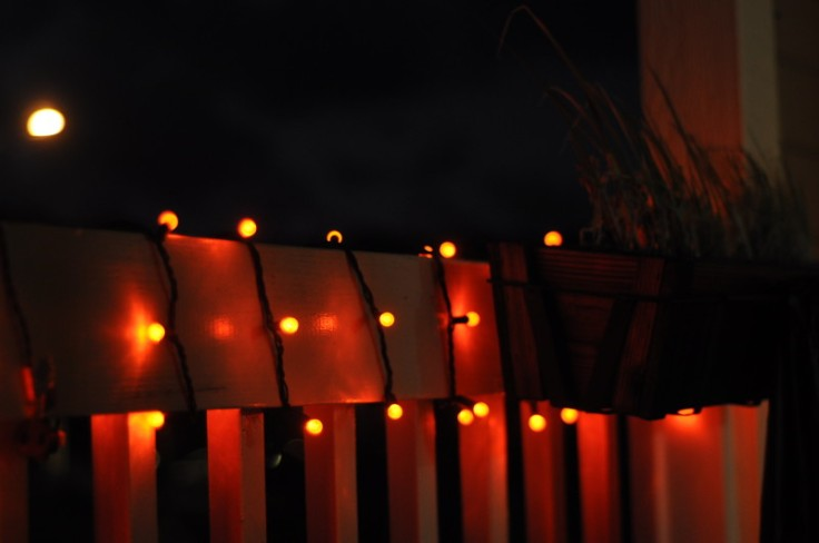 Halloween, fall, home decor, lights